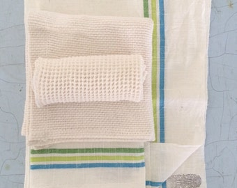 Housewarming kitchen towel set