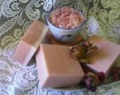 Himalayan Pink Salt Coconut Milk Spa Soap, Mature & Sensitive Skin