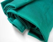 Vintage Thai Silk Sewing Material, Green Silk from House of Silk, Tailoring Supplies, 1 yd Silk Fabric