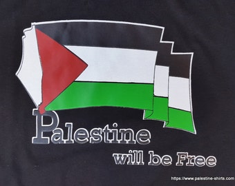 Palestine will be free T shirt