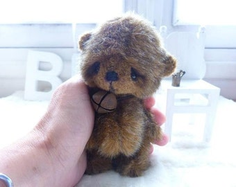 """PDF file for Sewing Pattern for 5 inch Bear """"Timeo"""""""