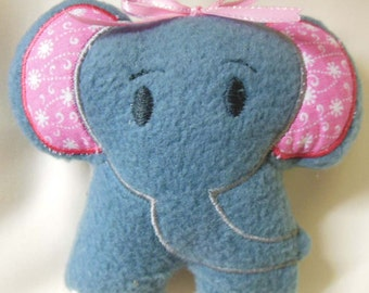 Elephant Stuffie  (In the Hoop Project)