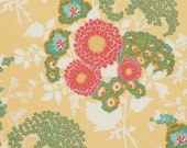 BOLD BOUQUET in Butternut (pwJD079) - BOTANIQUE - Joel Dewberry  - Free Spirit Fabric - By the Yard