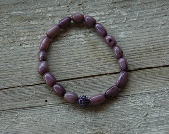 Grape Candy Anniversary Bracelet - Proceeds Benefit Cancer Research
