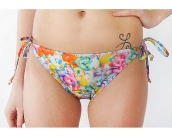 Pastel Frosting String Swim Bottom