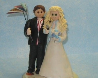 Custom Wedding Cake Topper for Renee