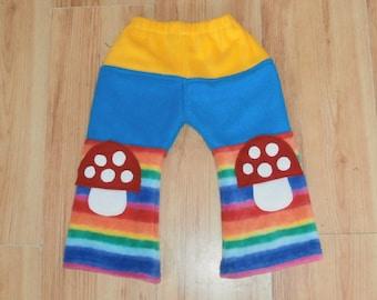 RAINBOW TOADSTOOL Fleece trousers
