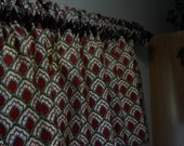 Country red teal and green valances 5th Avenue Designs