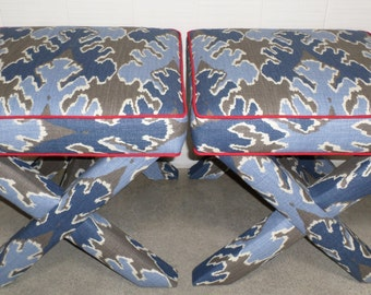 X Benches - Design Your OWN With Any Fabric