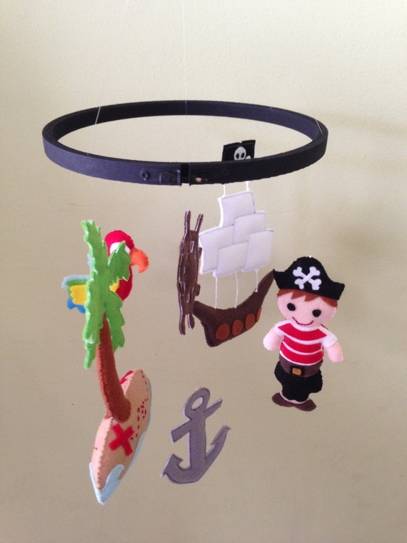 Pirate Baby Mobile Pirate Ship Mobile ◅ ▻