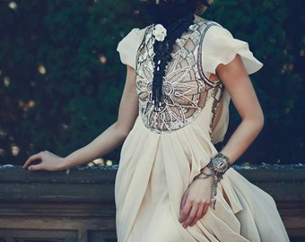 """Vintage Inspired Victorian Ascot Collar ... """"A Night At The Opera"""""""