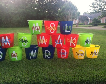 Personalized Bucket with Handles