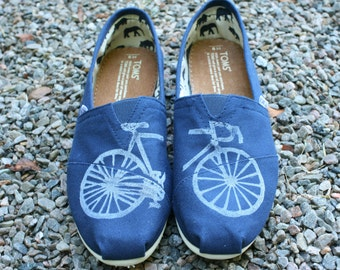 Bike TOMS Shoes