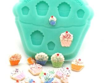 Dollhouse Miniature, 1:12 Scale, Miniature Cupcake Cookie Mold