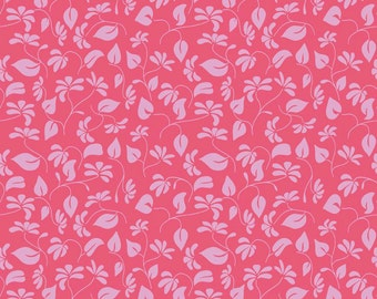 Lila Tueller for Riley Blake Designs - SPLENDOR - Floral in Pink - Cotton Fabric