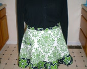 Fancy entertaining Half Apron fits up to large