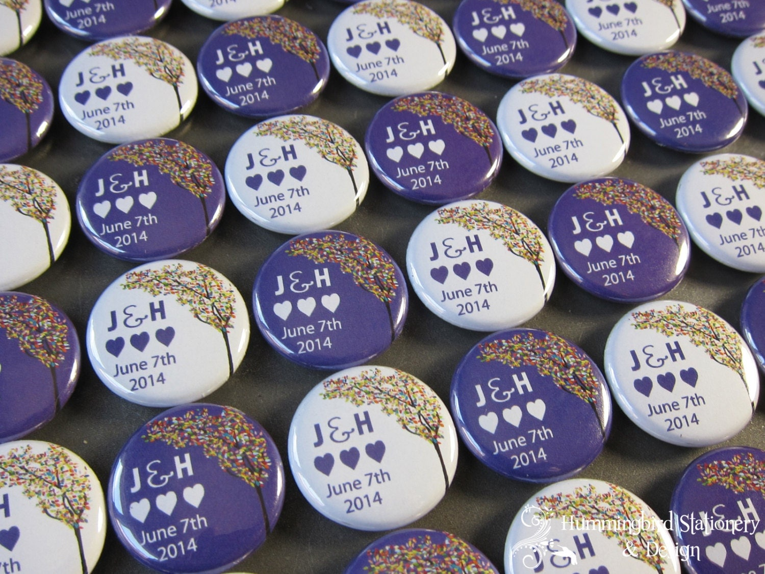 inch custom button pins or magnets set of 25 wedding favors party