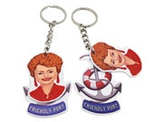 The Golden Girls - Blanche Devereaux  keychain