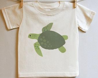 Kids clothing, turtle tshirt. 2T, 3T, 4T