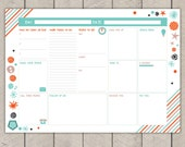 Printable Entrepreneurs Planner Daily Business Organiser