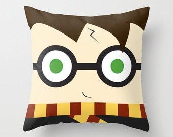 Wizard pillow, cushion, plush, Harry