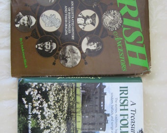 Two Irish Books - Folklore and Ancestors