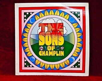 The SONS OF CHAMPLIN - Sons of Champlin - 1975 Vintage Vinyl Record Album