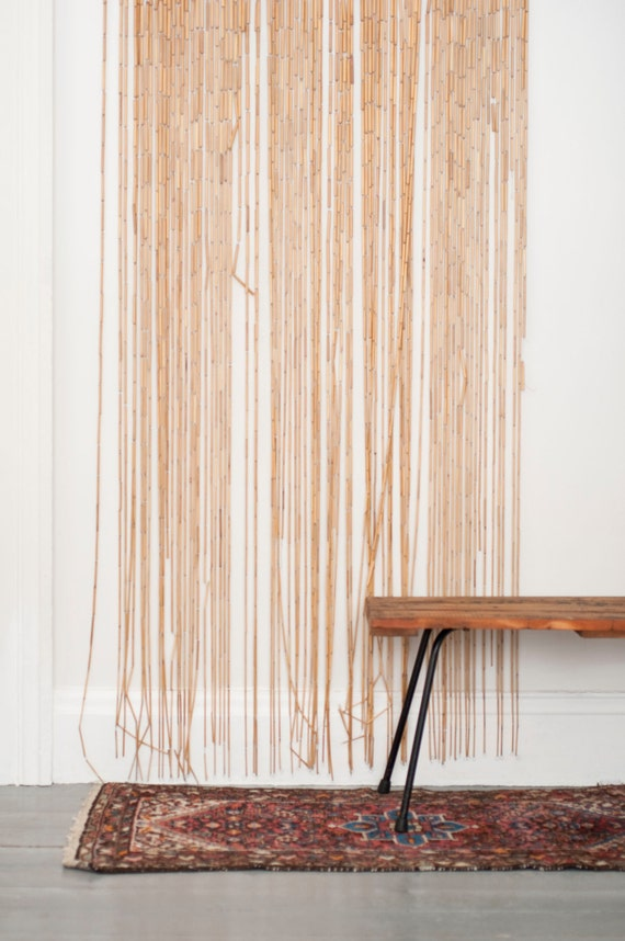 beaded curtain retro decorate the house with beautiful