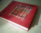 Japanese Binding Woven Cover Pretty Sketch Book Japanese Print Collage