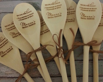 Bulk Order for Wooden Spoons, Wedding Shower, Bridal Shower, Kitchen Shower, Chili Cook-Off SP-WBK