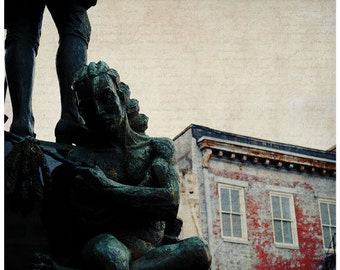 New Orleans photography, Decatur street, Save Your Soul, 11x14 fine art print