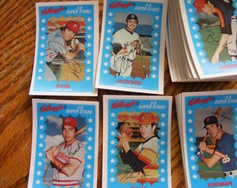 Kelloggs 1982 3D Baseball card set no cracks