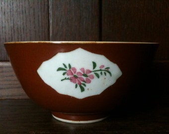 Antique Chinese Brown Bowl circa 1910-20's / English Shop