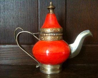 Vintage Arabian 1001 Nights Teapot Kettle circa 1960's / English Shop