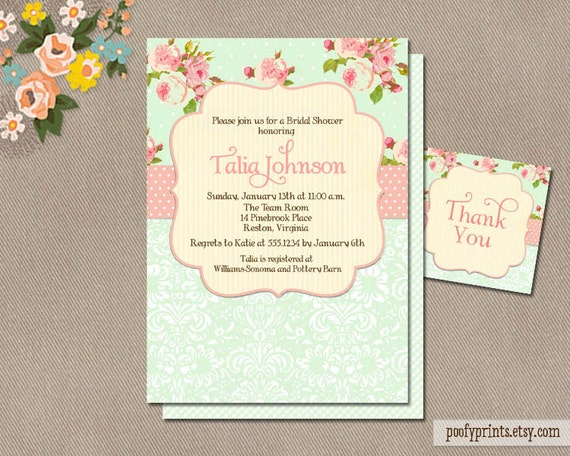 Beach Themed Bridal Shower Invitations was awesome invitation sample