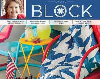 An American Classic Quilt Kit with Block Book by Missouri Star Quilt Company