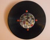 Love  Recycled Vinyl Record /CD Clock Wall Art