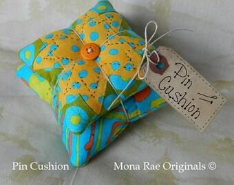 Pin Cushion - Original Design Pin Keeper - Mothers Day Gift