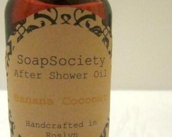 Banana Coconut-----Fresh After Shower/Massage Oil
