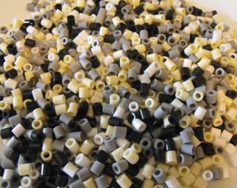 1000 Perler Hama Fuse Beads Formal Shades