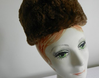 Vintage Fur Hat from Kathryn Trese