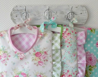 Ruffle Peg Bag. Clothespin Bag. Premium Cotton Rose Bouquet. Pouch. Laundry Day. Cath Kidstonesque. europeanstreetteam