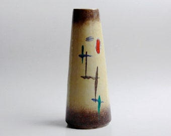 Tall West German Vase- Scheurich 60s