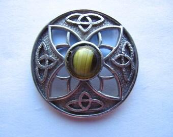 Vintage Celtic Brooch or Kilt Pin
