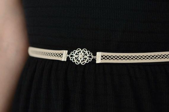 bridal belt belt silver belt wedding dress belt