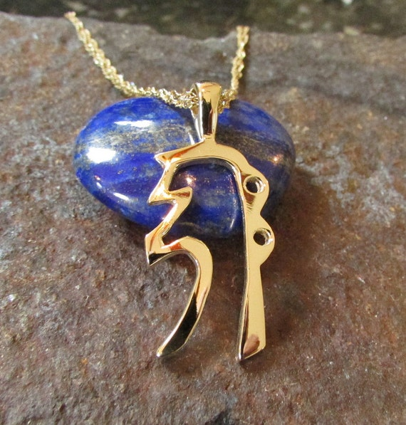 Reiki Jewelry, Reiki Necklace, Sei Hei Ki, Gold Reiki Jewelry, Gold Reiki Pendant, Reiki Gift, Reiki Master, Reiki Symbols, Custom Jewelry