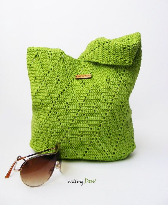 Crochet Purse from Falling Dew