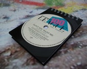 THE HUMAN LEAGUE Record Notepad Handmade From Recycled Vintage Record Don't You Want Me