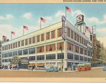 Madison Square Garden 1930s New York City  NY