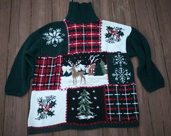 Ugly holiday sweater | Etsy